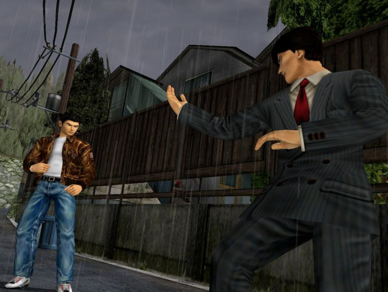 shenmue 1 & 2 HD combat