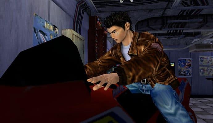 shenmue 1 & 2 HD arcade