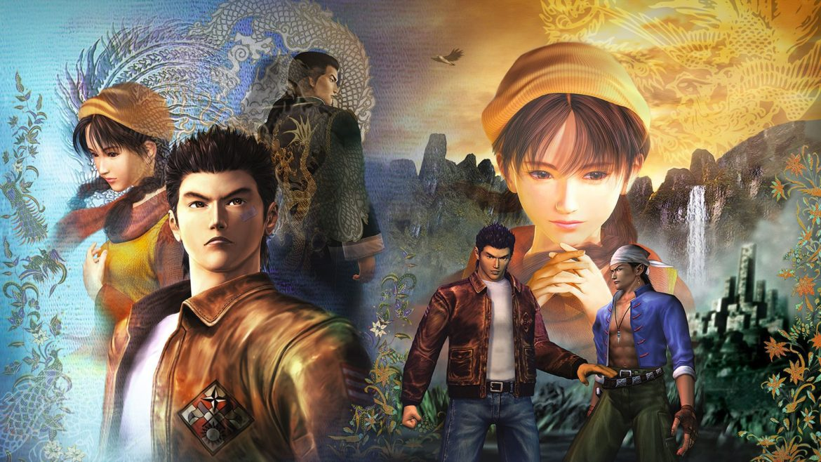 shenmue 1 & 2 hd personnages