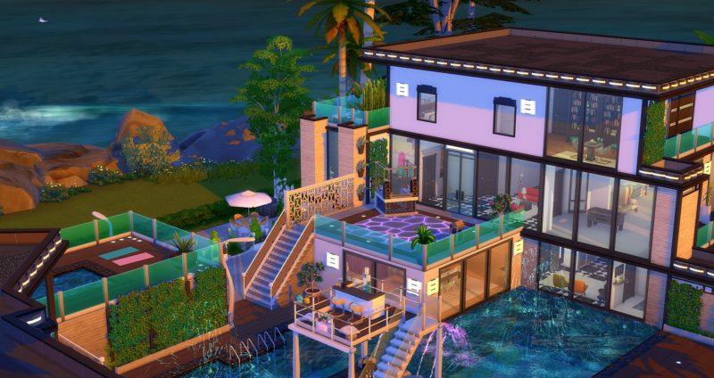 Sims 4 caraïbes maison