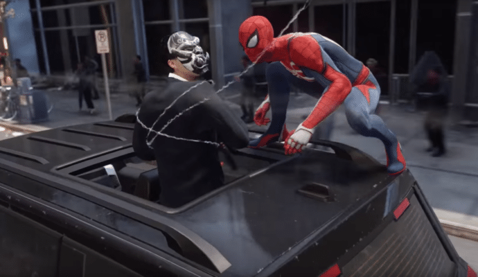 Spider-Man crime