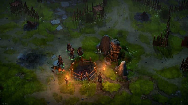 pathfinder: kingmaker campement