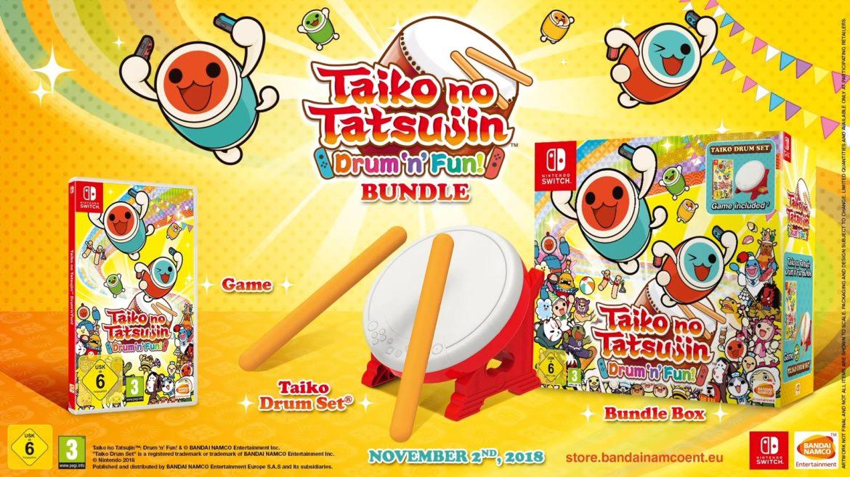 Taiko no Tatsujin: Drum 'n' Fun - bundle et gameplay
