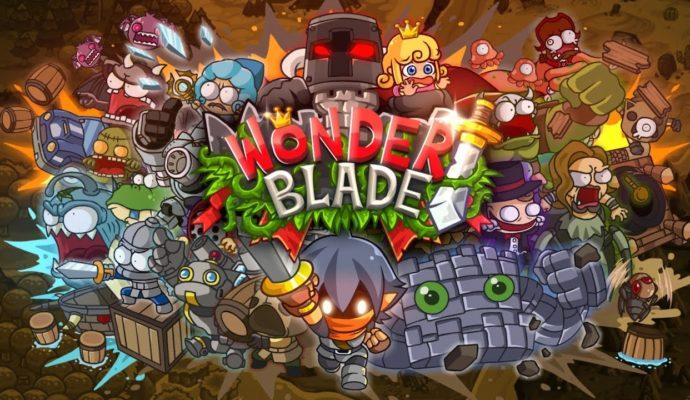 Wonder Blade écran titre