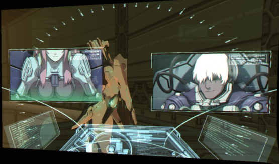 Zone of the Enders: The 2nd Runner MARS cinématique