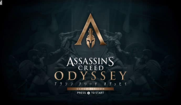 Assassin's Creed Odyssey - Ecran titre