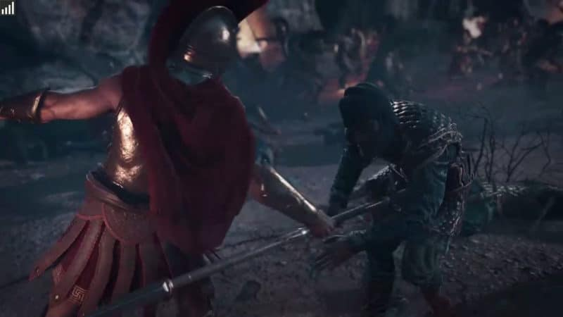 Assassin's Creed Odyssey - les cinématiques sont propres