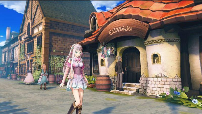 Atelier Lulua: The Scion of Arland - Lulua au village