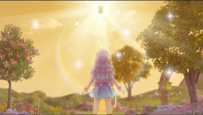 Atelier Lulua: The Scion of Arland - Lula fixe le coucher de soleil