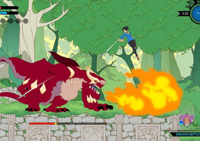 Battle Chef Brigade - bataille dragon