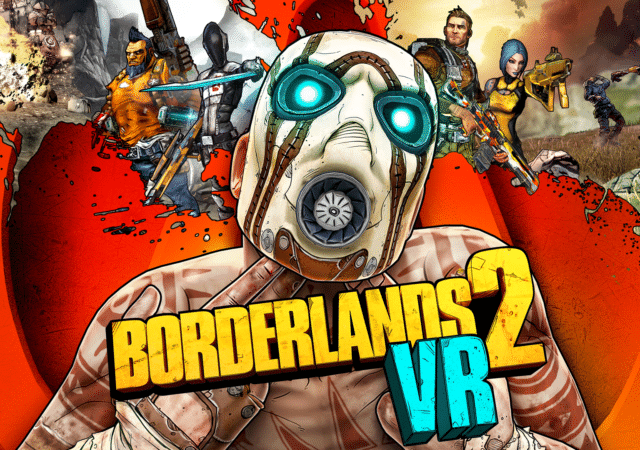 Borderlands 2 VR key art