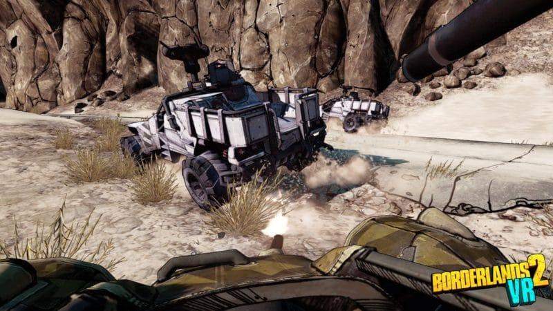 Borderlands 2 VR véhicules
