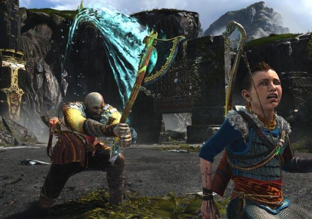 God of War Kratos veut couper BOI !