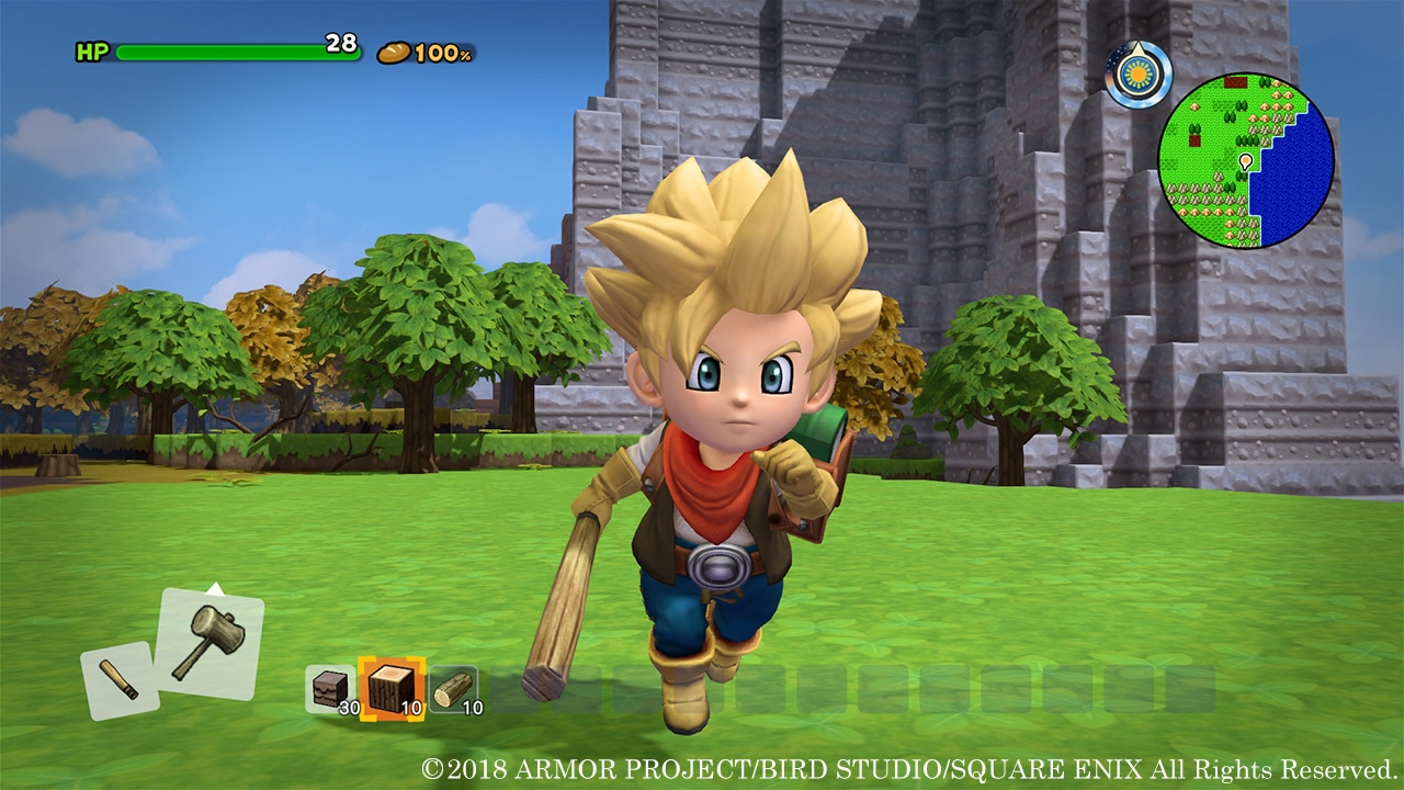 Dragon Quest Builders 2 - Lucky Luke