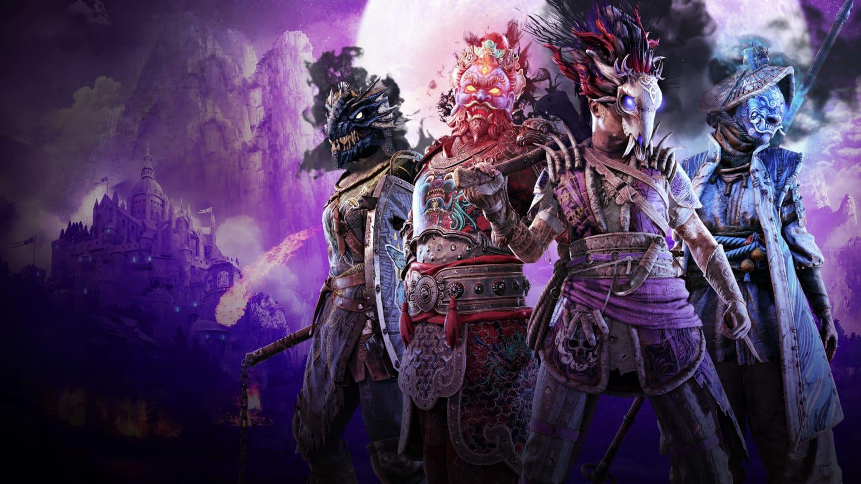 for honor: retour de l'au-delà masques