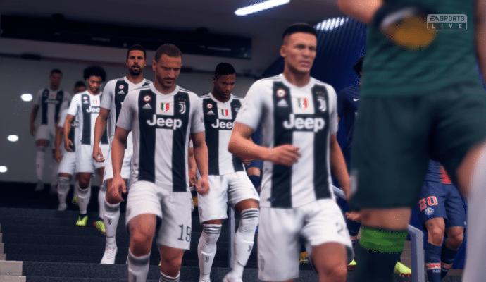 FIFA 19 - vidéo d'avant match
