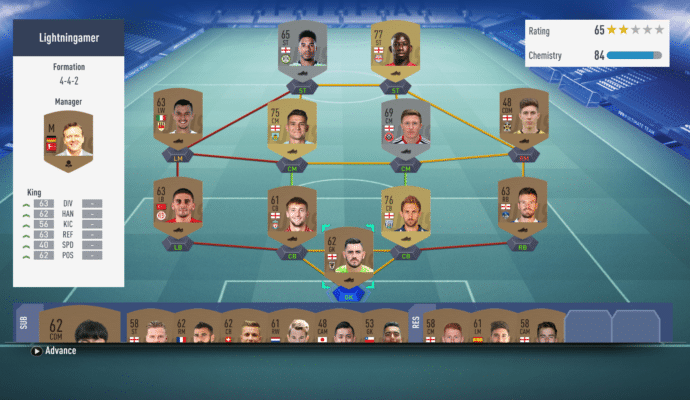 FIFA 19 - ultimate team 1