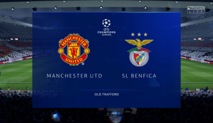FIFA 19 -champions league match