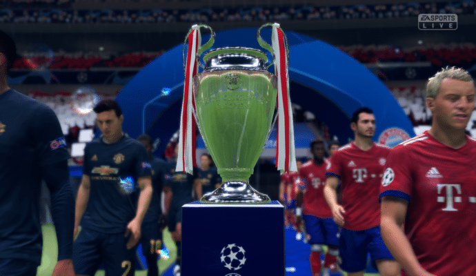 FIFA 19 - champions league coupe