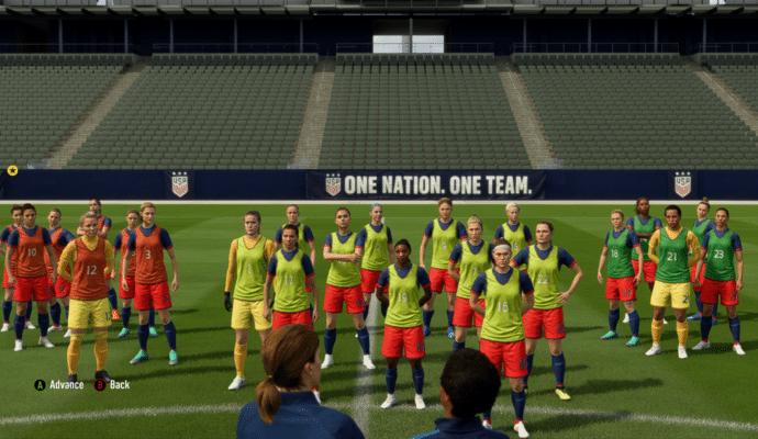 FIFA 19 - Entrainement L'aventure