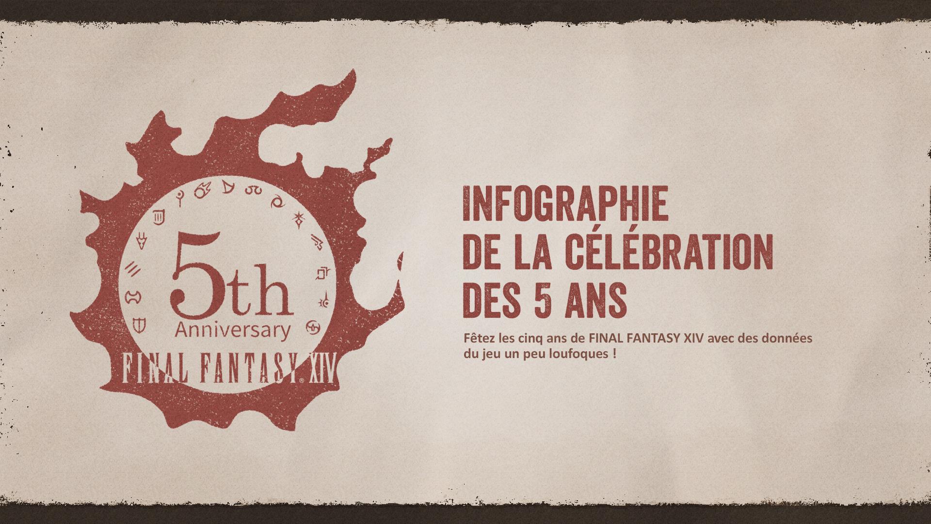 Final Fantasy XIV infographie couverture