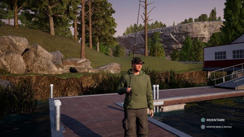 Pêcheur devant sa villa