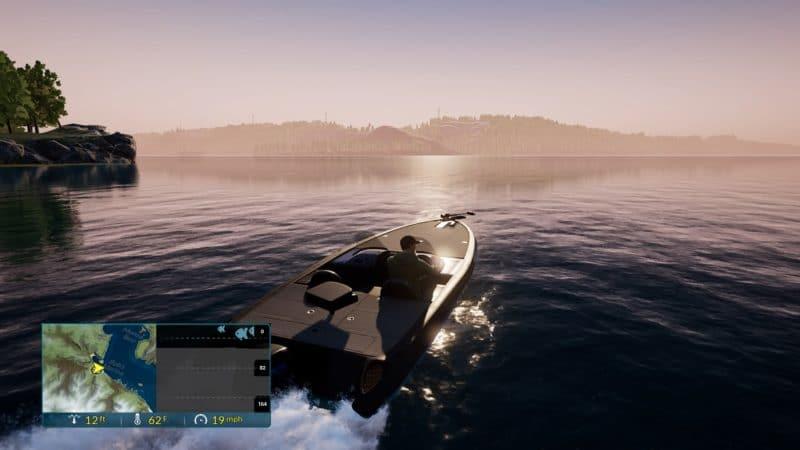 Fishing Sim World bateau