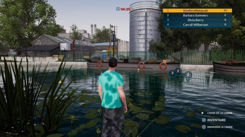 Fishing Sim World pêche sur rive