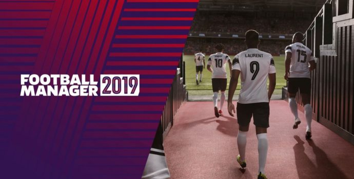 Football Manager 2019 - titre