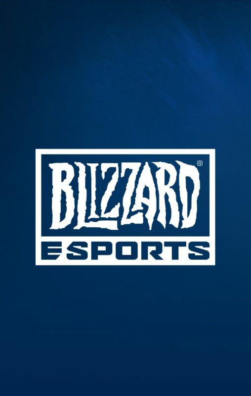 Page de chargement Blizzard eSport