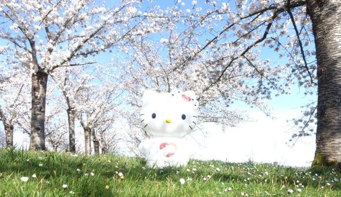 Teknofun Hello Kitty géante