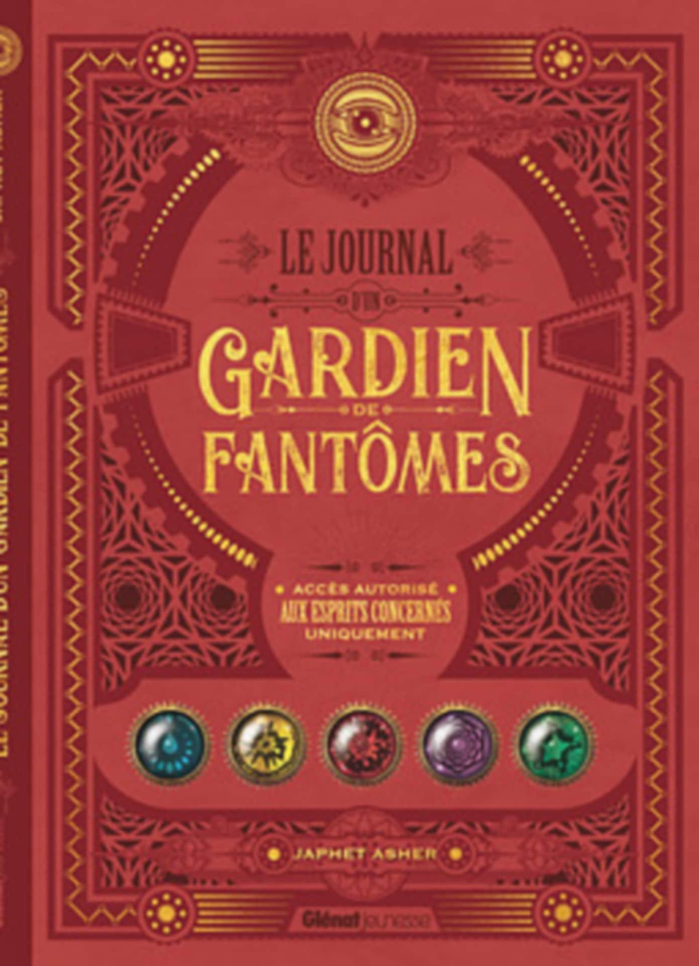 Le Journal d'un Gardien de fantômes - Couverture roman