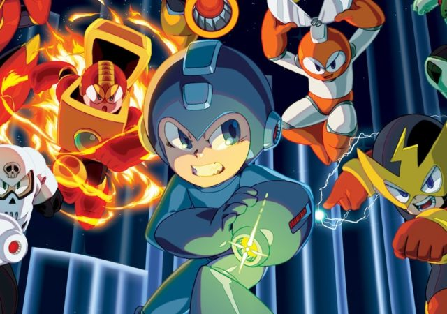 Mega Man key art