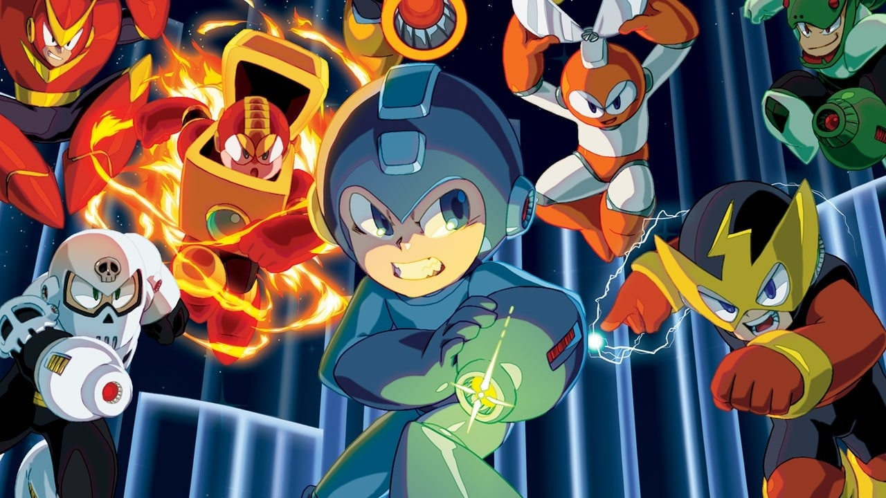 Mega Man key art