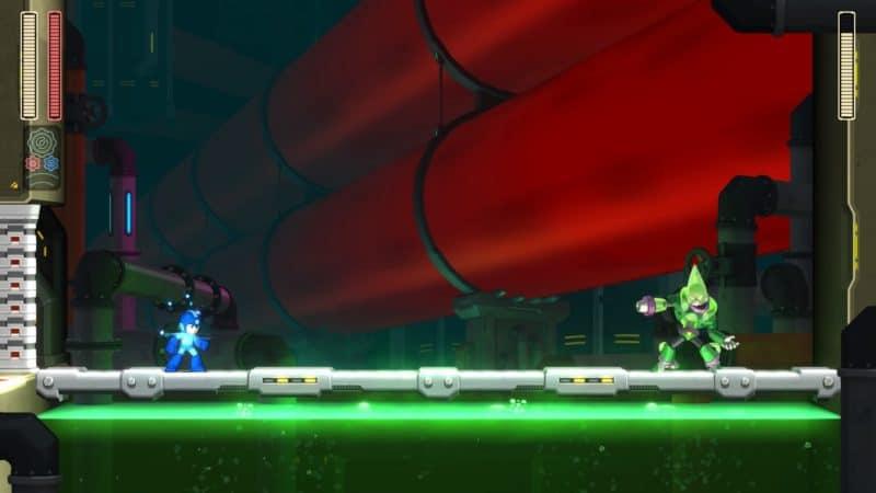 Mega Man - du boss