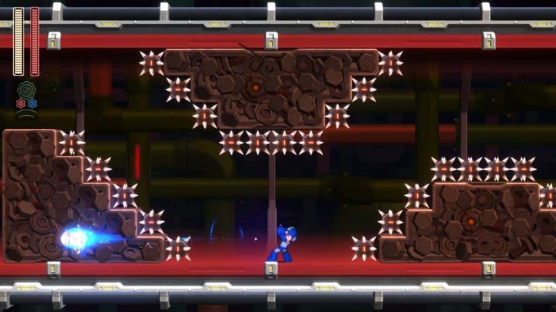 Mega Man 11 - Piège tendu
