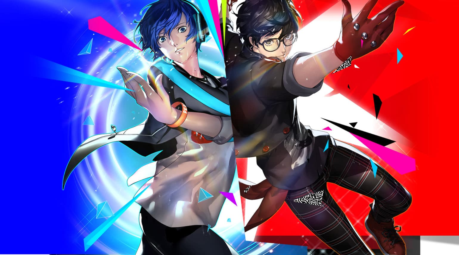 Persona Dancing - illustration choc P3 et P5
