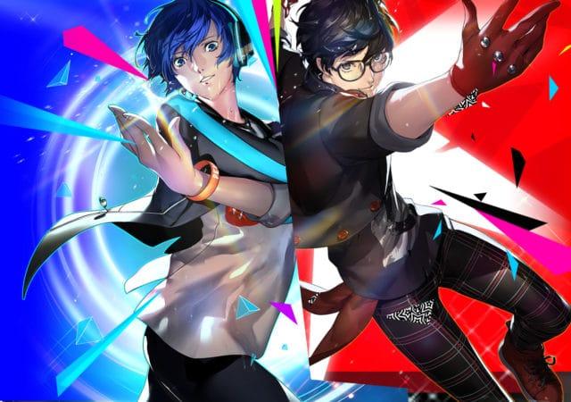 Persona Dancing Makoto et Ren
