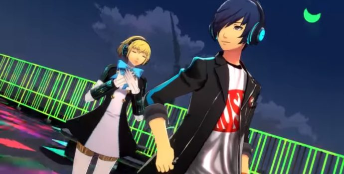 Persona 3 Dancing in Moonlight Makoto et Aigis