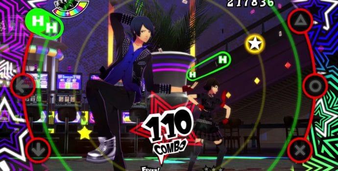 Persona 5 Dancing in Star Night Yusuke et Makoto gameplay