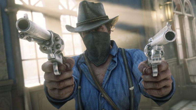 Red Dead Redemption 2 - braquage