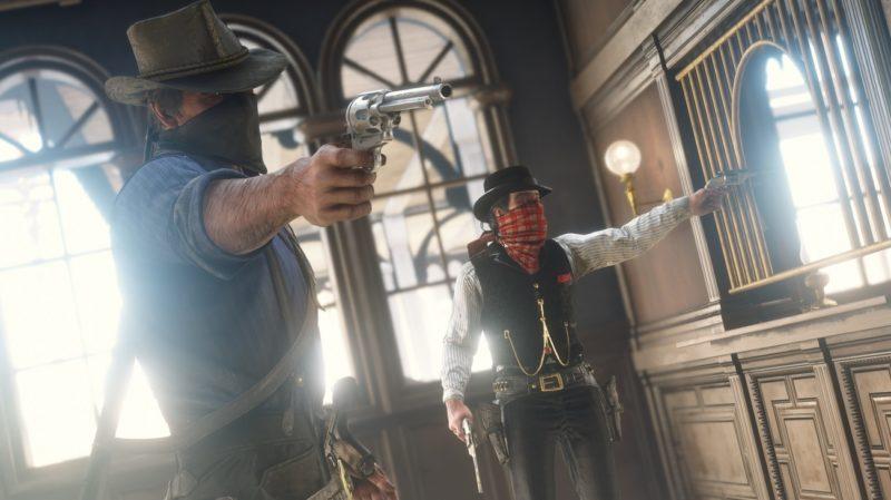 Red Dead Redemption 2 - braquage, hors la loi