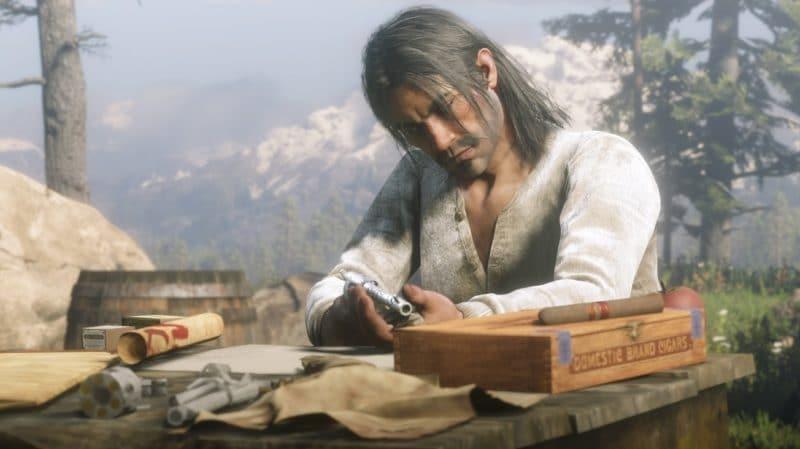 Red Dead Redemption 2 - personnage, préparation, montagne