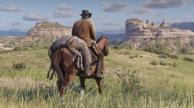 Red Dead Redemption 2 - vaste, contrée, animal, cheval