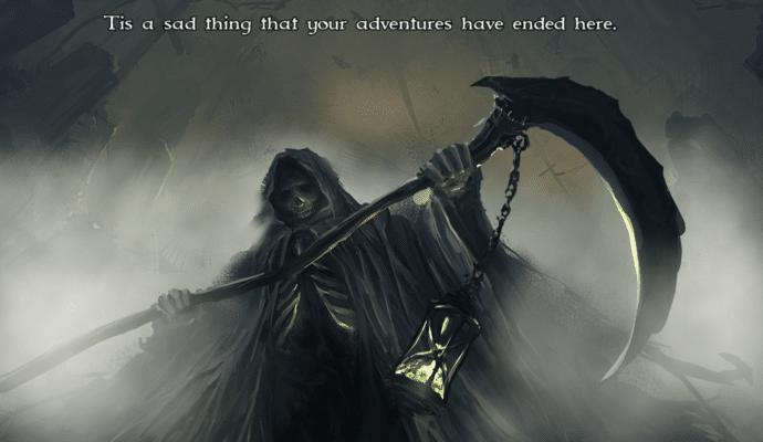 Shadowgate death