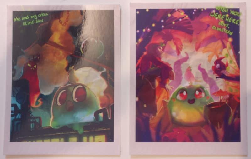 Slime-San Superslime Edition - cartes postales