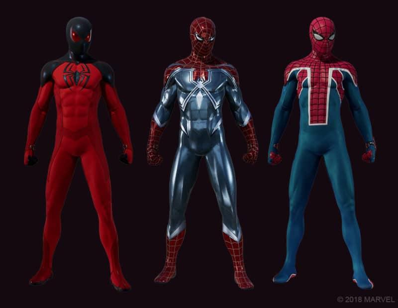spider-man the heist costumes