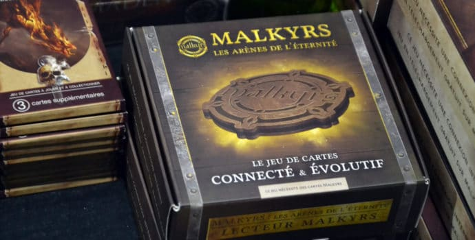 Malkyrs - boîte lecteur NFC
