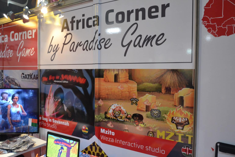 Stand indépendant Africa Corner pgw 2018