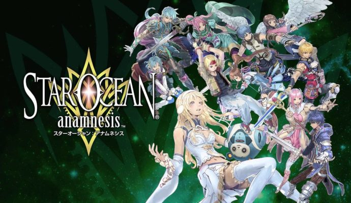 Star Ocean: Anamnesis logo personnages